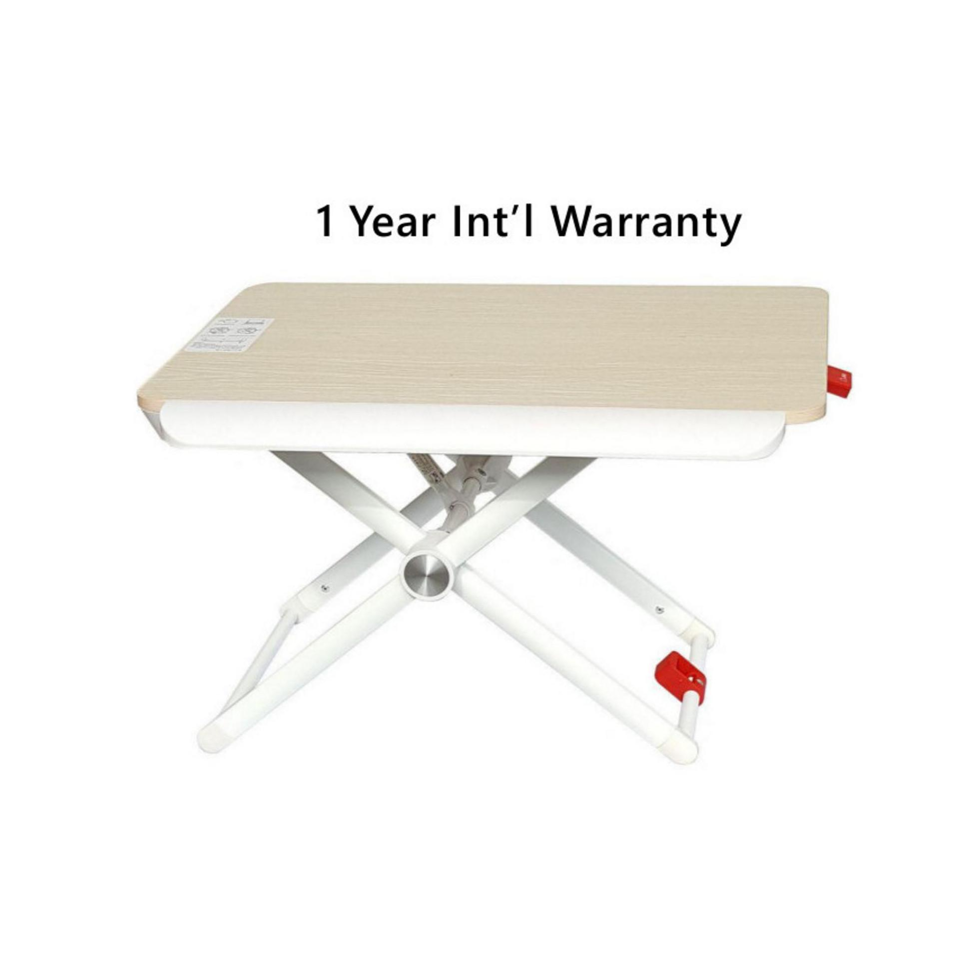 Furniture Desktop Computer Table Adjustable &portable Laptop Desk Rotate Laptop Bed Table Can Be Lifted Standing Desk With Keyboard Durable In Use
