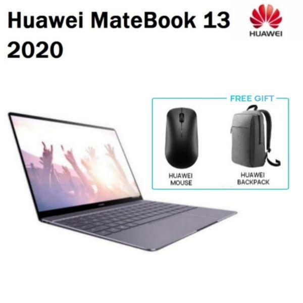 Huawei MateBook 13 2020 / 13.3 2K IPS Laptop / Intel i5-10210U / Geforce MX250 2GB / 16GB RAM / 512GB SSD /