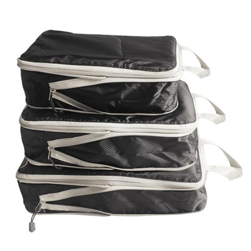 Packing Cube for Travel Compression Bags Travel Bag Organizer for Luggage Backpack 3pcs Set [Local Seller]