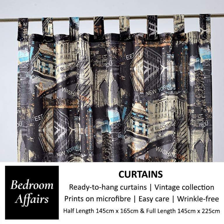 RINCO BONINGTON New York Curtain (Full Length)