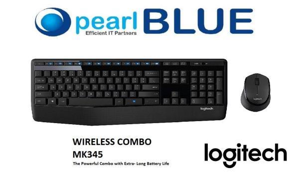 Logitech MK345 Wireless Combo ( Keyboard + Mouse ) Singapore