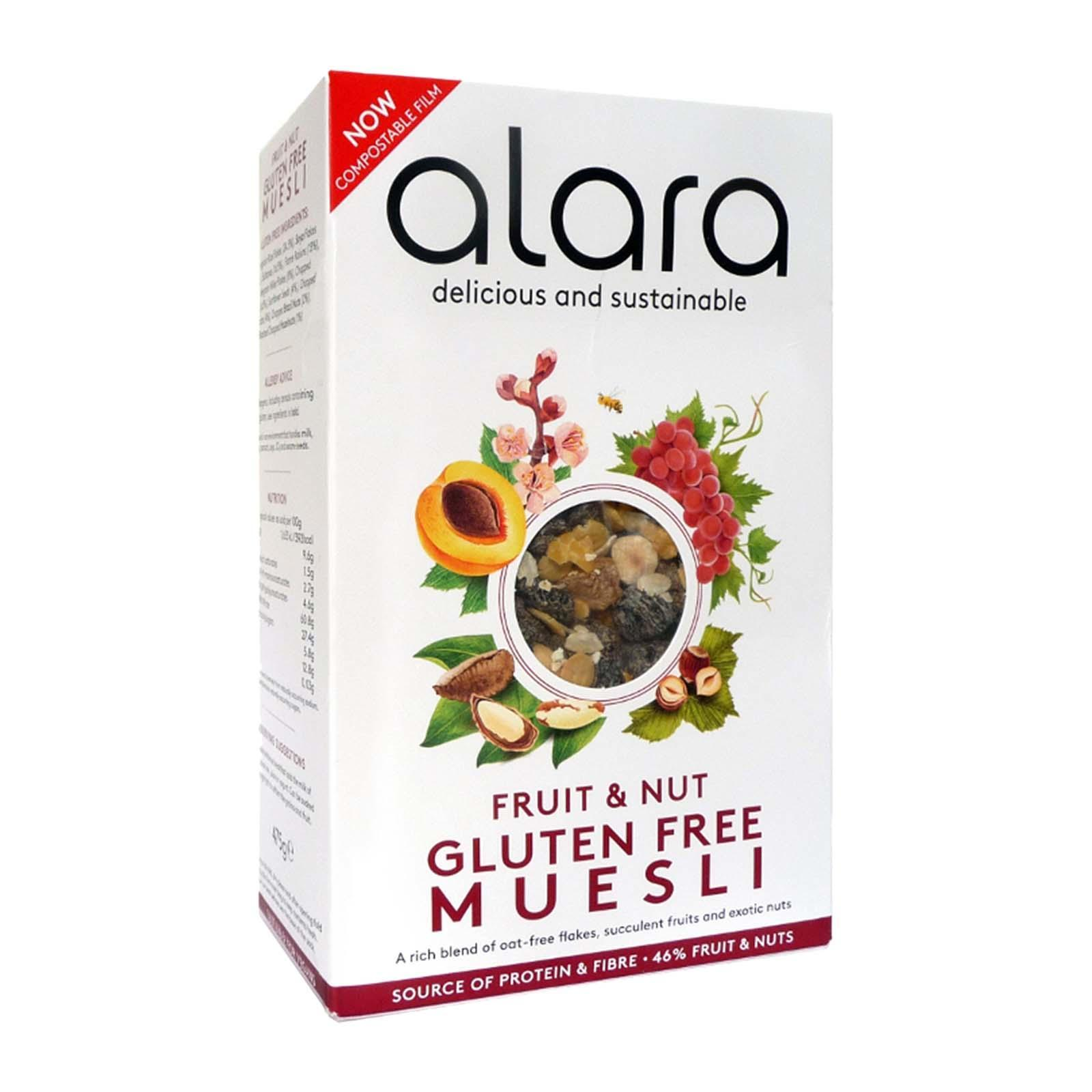 Alara Gluten Free Fruit And Nut Muesli