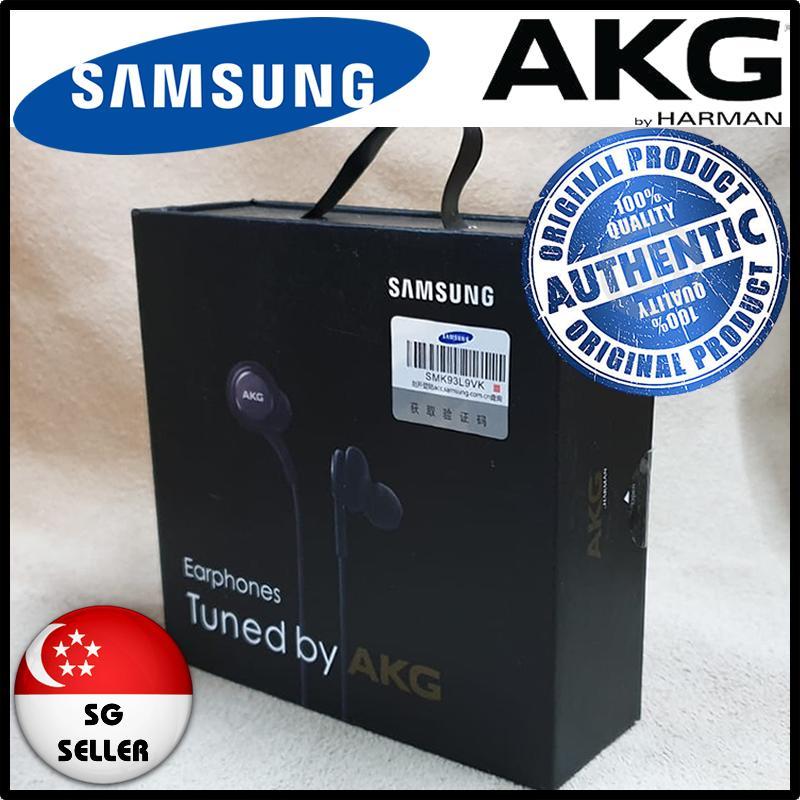 [ORIGINAL] SAMSUNG AKG EARPHONES/ HEADPHONES S8 IN 100% GENUINE RETAIL 3D BOX
