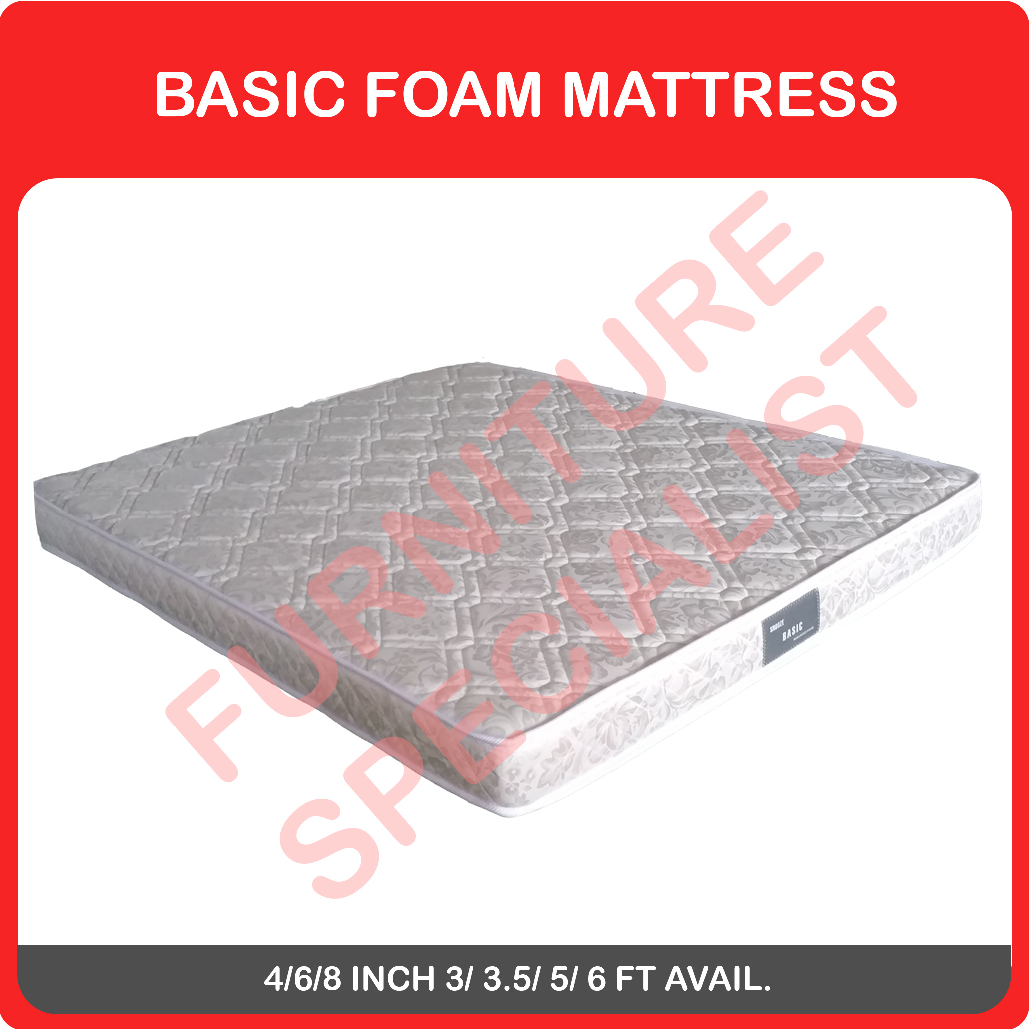 Basic Foam Mattress