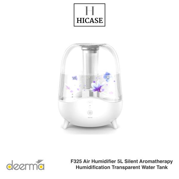 Xiaomi Deerma F325 Air Humidifier 5L Silent Aromatherapy Humidification Transparent Water Tank Singapore