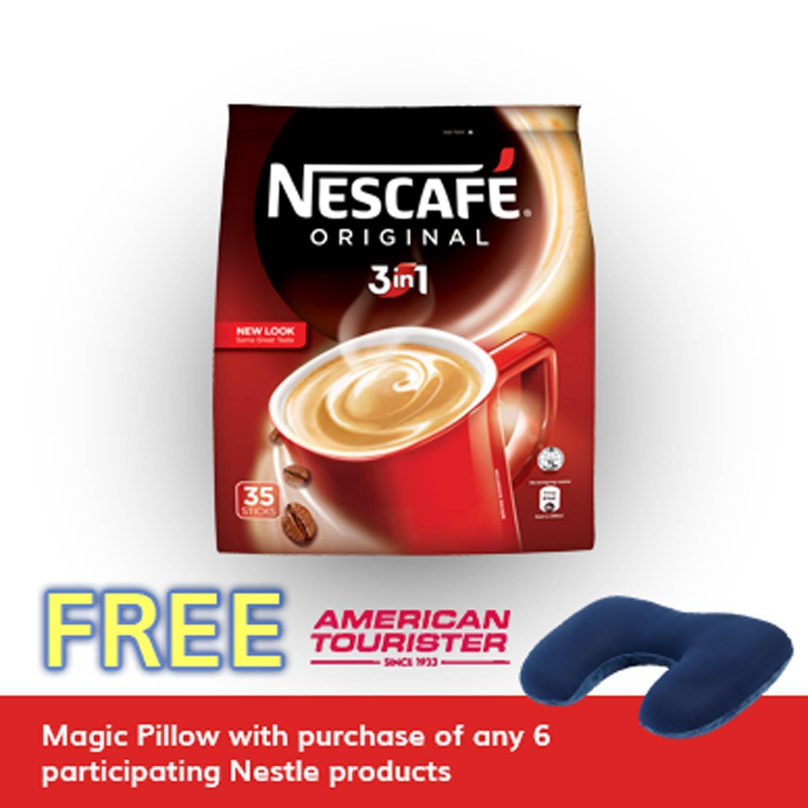 Nescafe Original 3 In 1 Instant Coffee By Redmart.