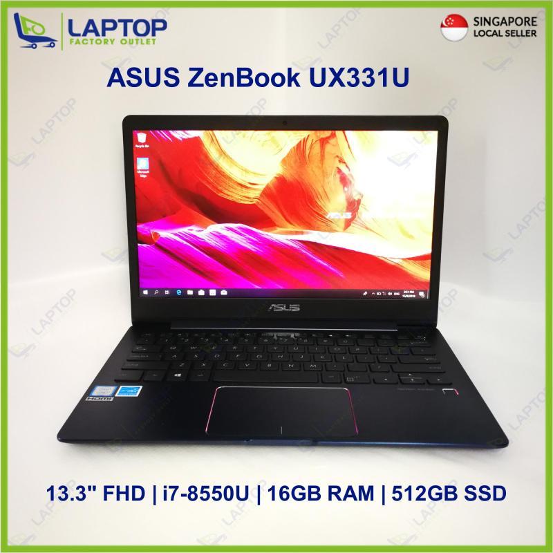 ASUS ZenBook UX331U (i7-8/16GB/512GB) @Thin & Light @ Premium Preowned [Refurbished]