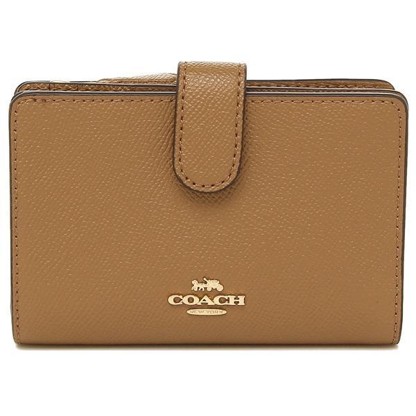 c0fde542fa36 Coach Medium Corner Zip Wallet In Crossgrain Leather With Gift Box