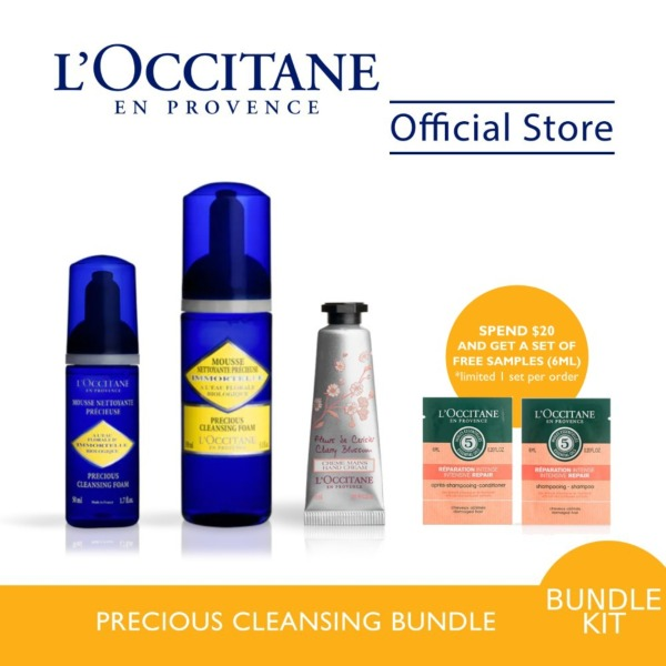 Buy LOCCITANE Precious Cleansing Bundle Singapore