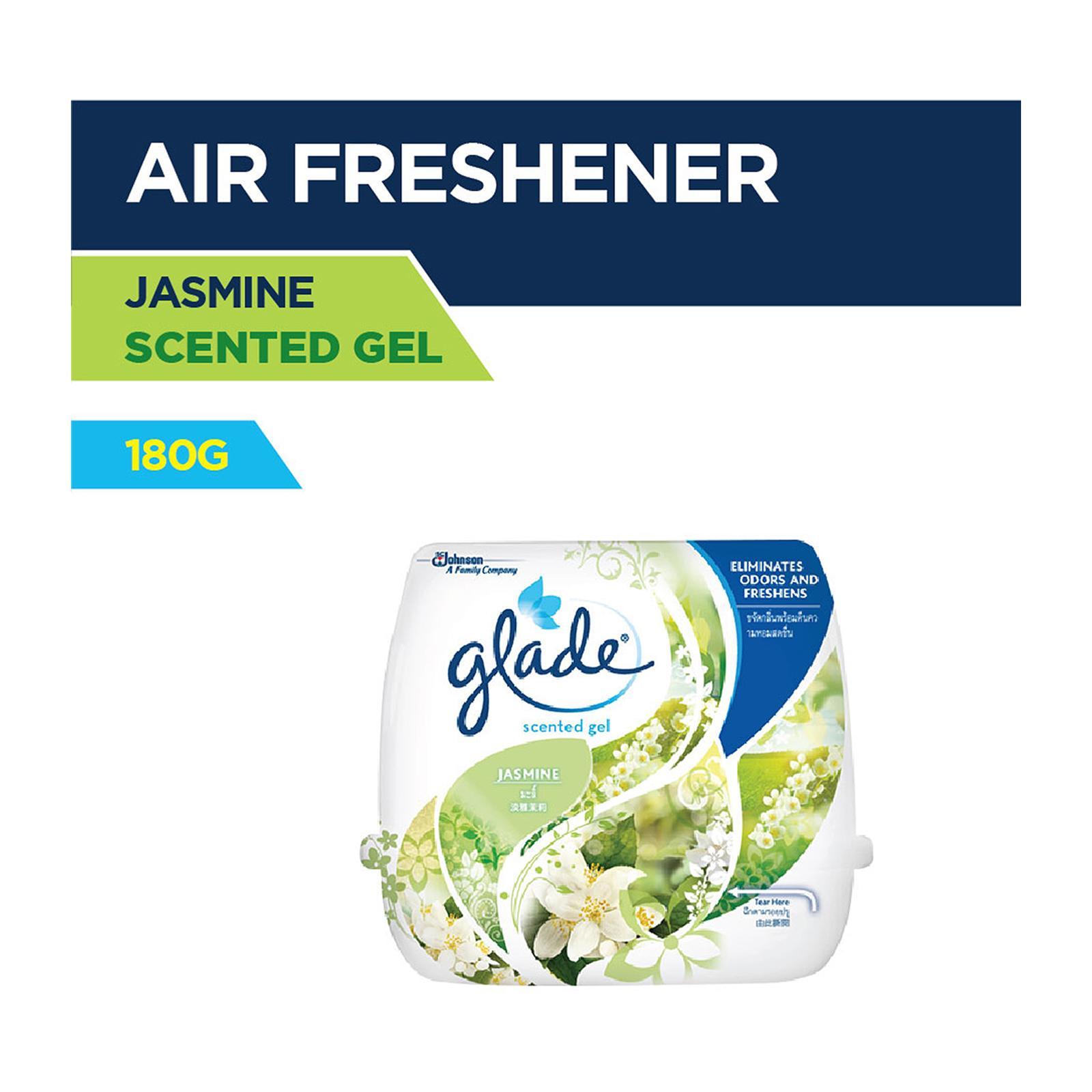GLADE Air Freshener Scented Gel - Jasmine 180g