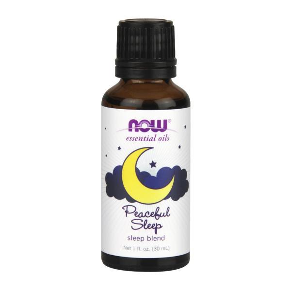 Buy Now Foods Essential Oils Sleep Blend Peaceful Sleep 1 Fl Oz (30 Ml) Singapore