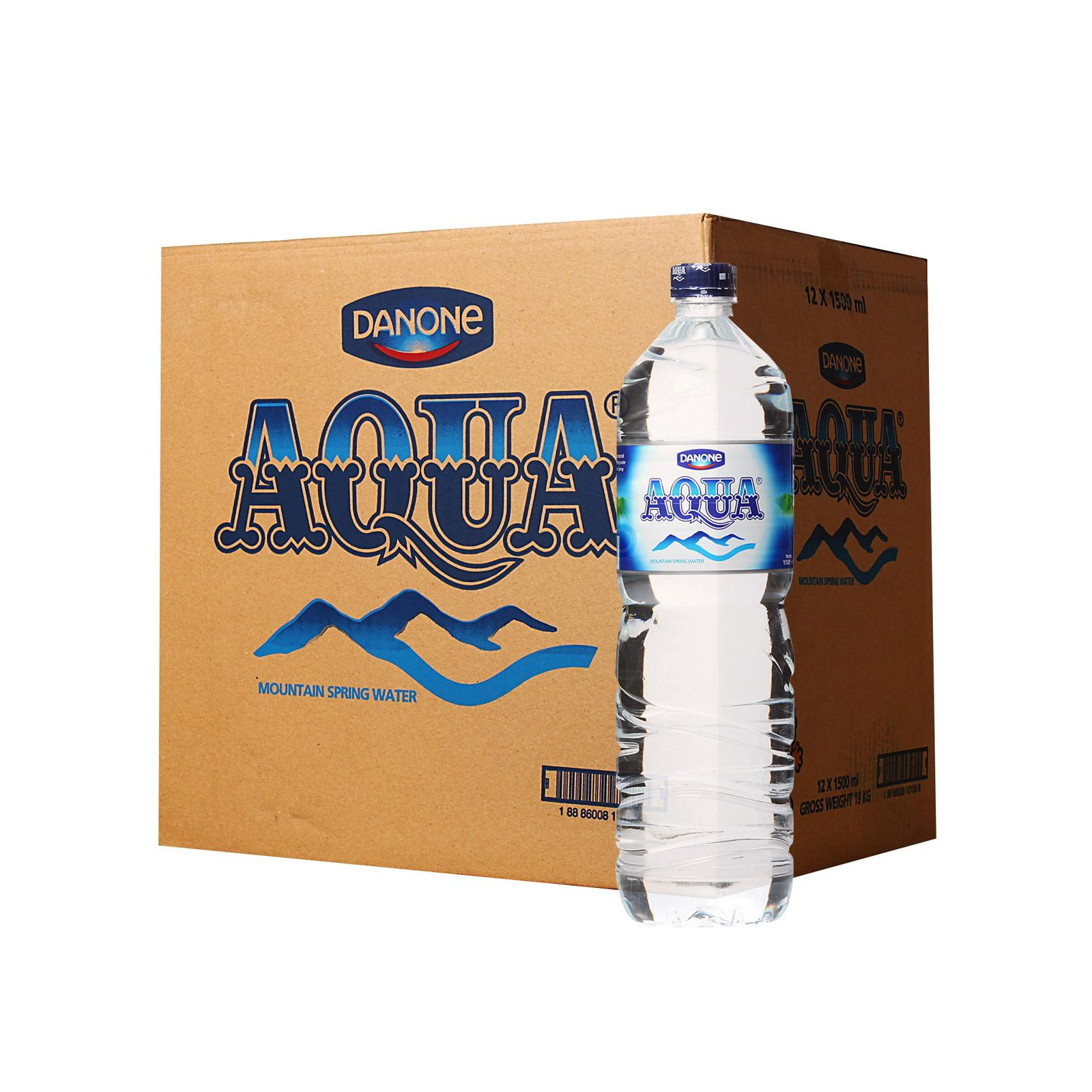 Aqua Mountain Spring Water - Case