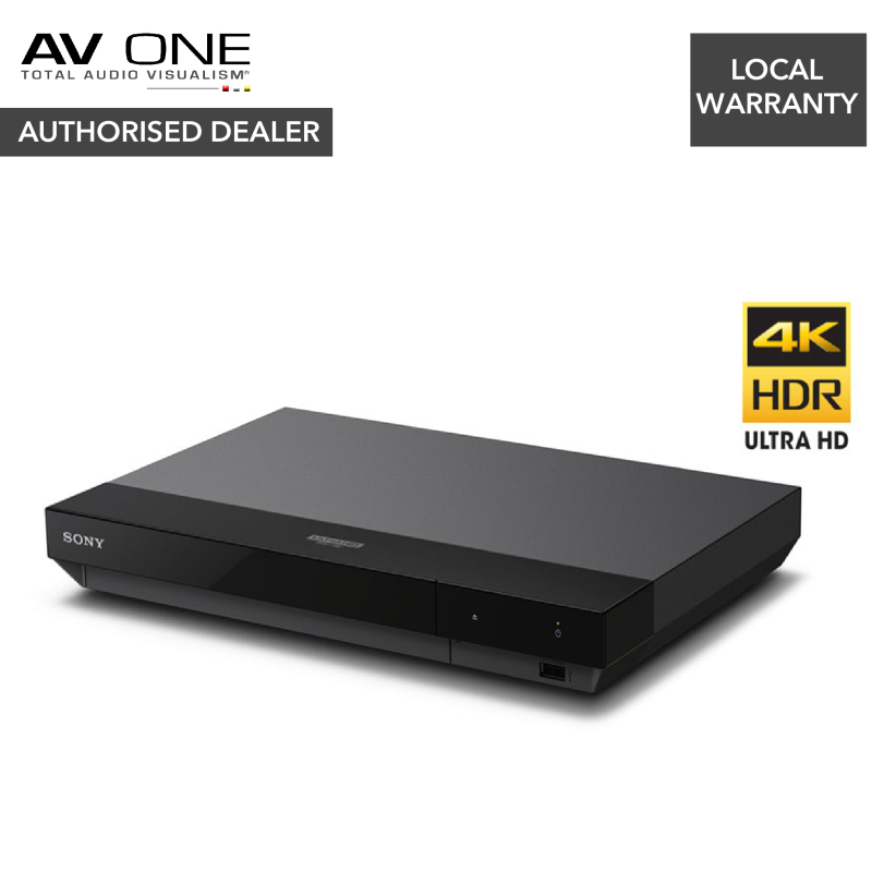 Sony UBP-X700 4K Ultra HD Blu-ray Player with High Resolution Audio Authorized Dealer/Official Product/Warranty Singapore