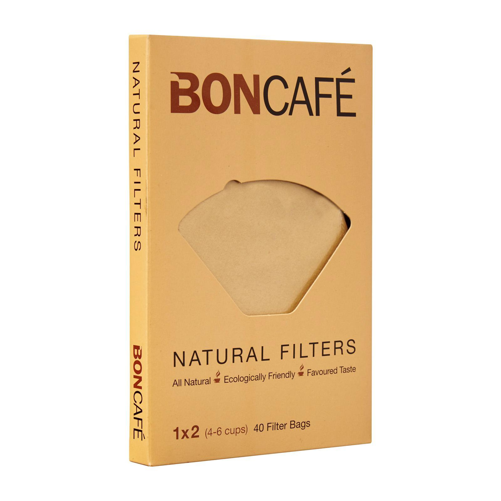 Boncafe Natural Filters (4-6 Cups)