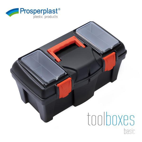 Prosperplast DIY Multi Purpose Hardware Organizer Mustang Tool Box (2 Sizes)
