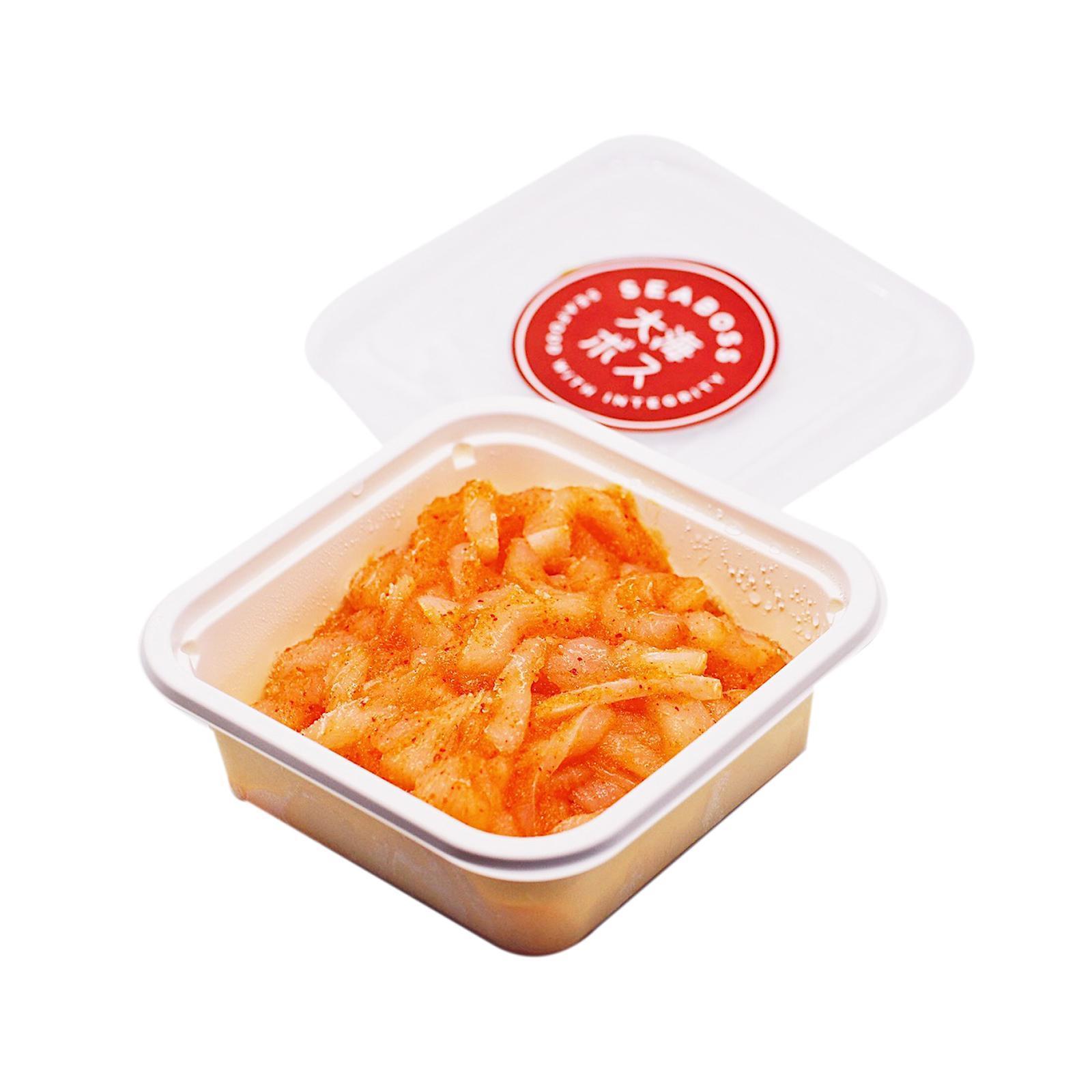 SEABOSS Mentaiko Ika (Seasoned Squid with Mentaiko) - Frozen