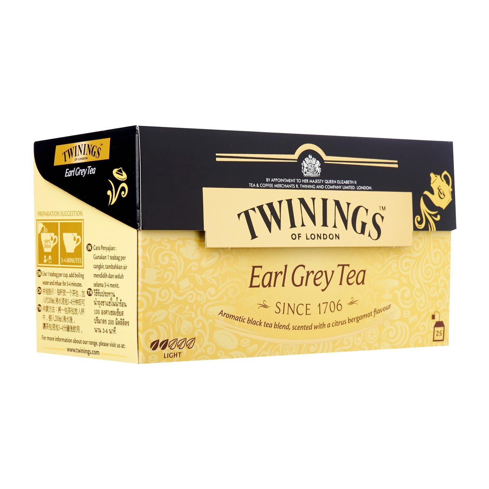 Twinings Earl Grey Tea 25's