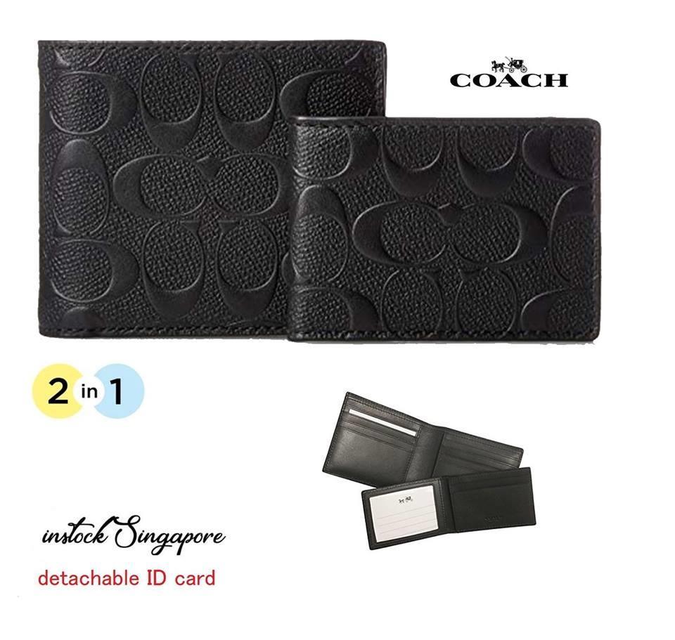 c92e2c52 Coach Wallet Men 74991 price in Singapore
