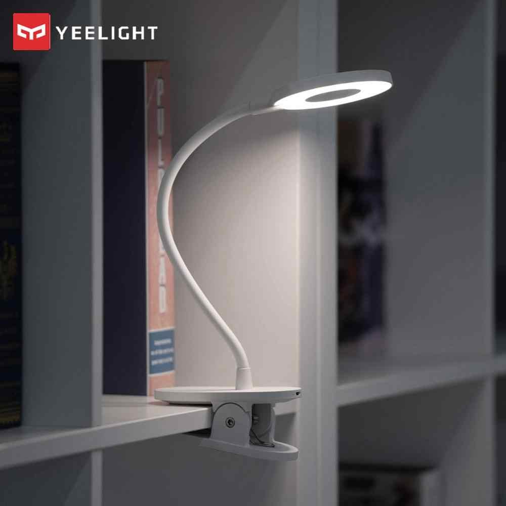 New 2019 Xiaomi Mijia Yeelight J1 Clip Rechargeable Desk Eye protection Lamp Table USB Light clip Adjustable LED Lamps