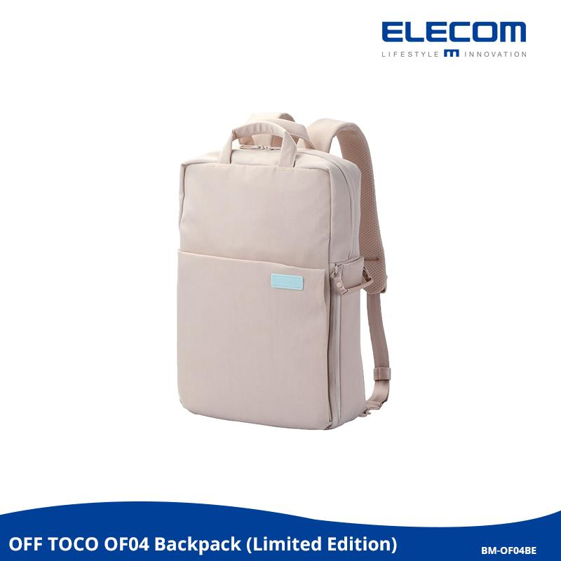 ELECOM OFF TOCO OF04 BP LIMITED EDITION 3-Way Style Backpack / School / Casual / Office / Water-Repellent / Travel / Fashion / Style