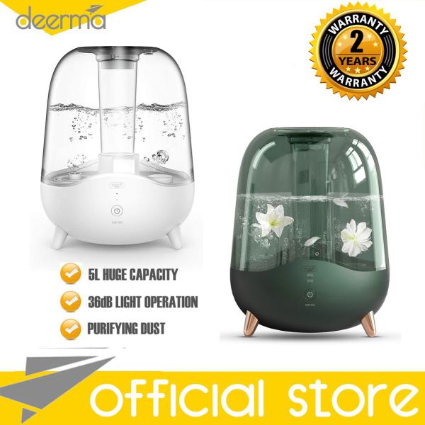 Xiaomi Deerma F325/F329 Air Humidifier 5L Silent Aromatherapy Humidification Transparent Water Tank Singapore
