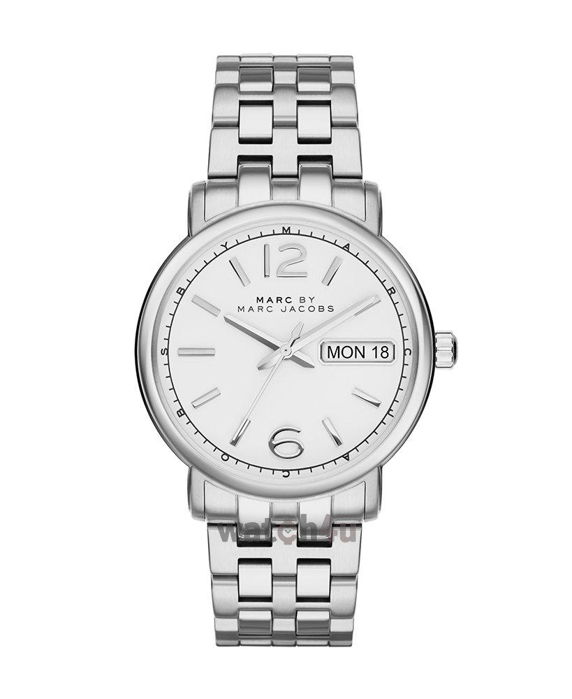 Marc By Marc Jacobs Fergus White 38mm Dial Silver Stainless Steel Ladies Watch Mbm8646 By Watch Centre.