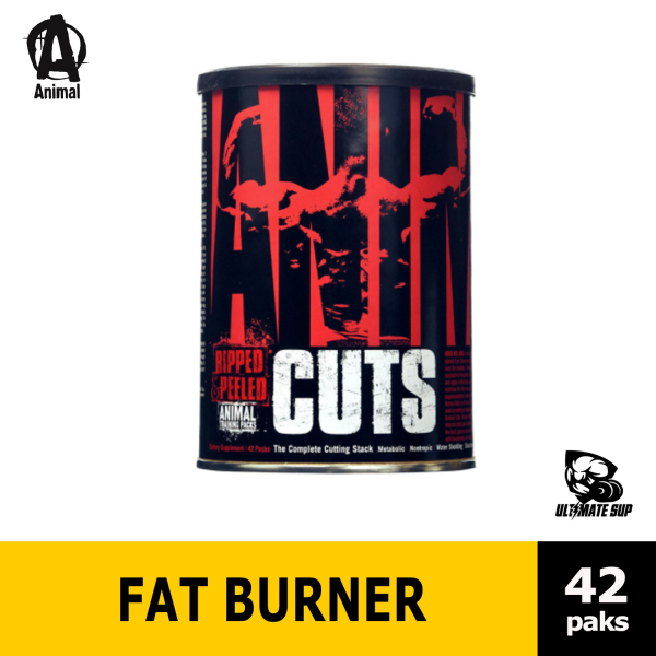 Buy Animal Cuts, Fat Loss Pak Designed To Get You Sliced, Diced & Shredded, 42 Paks Singapore