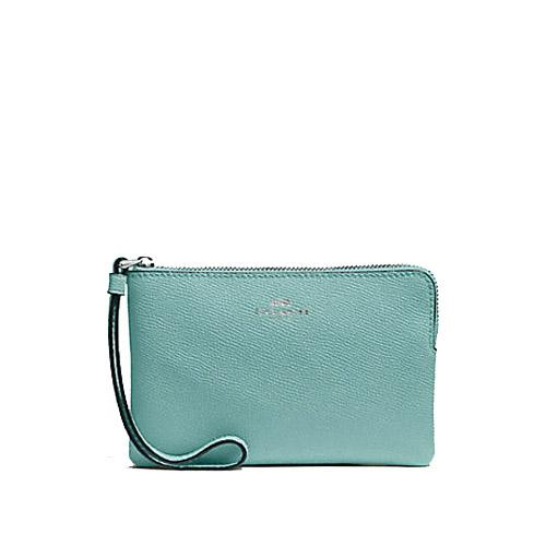 91e18cd39d5 NEW ARRIVAL Coach Corner Zip Small Wristlet Multiple Designs Available (  With Coach Gift Box)