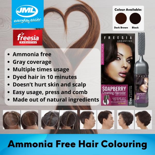 Buy [JML Official] Freesia Soapberry Hair Dye (80ml) Singapore