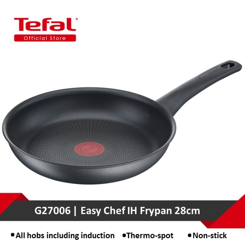 Tefal Easy Chef IH Frypan 28cm G27006 Singapore