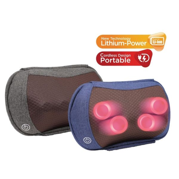 Buy KneadMe V2 Rechargeable Massager, Massage Pillow, Neck Massager, Shoulder massager, massage pillow Singapore