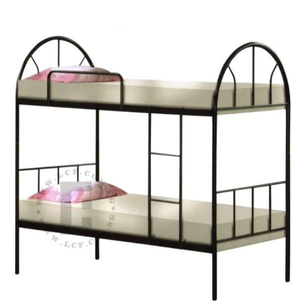 Double Decker Metal Bedframe + Mattress + Plywood (FREE PILLOWS)