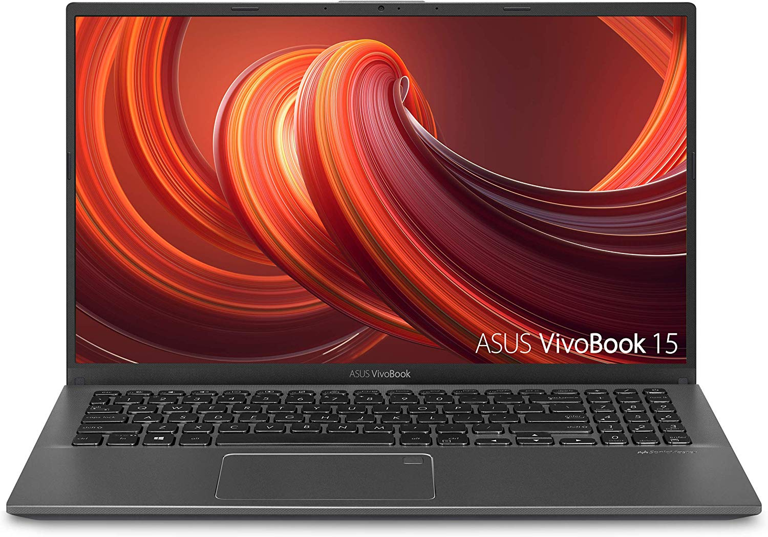 "ASUS VivoBook 15 Thin and Light Laptop, 15.6"" Full HD, AMD Quad Core R5-3500U CPU, 8GB DDR4 RAM, 256GB PCIe SSD, AMD Radeon Vega 8 Graphics, Windows 10 Home"