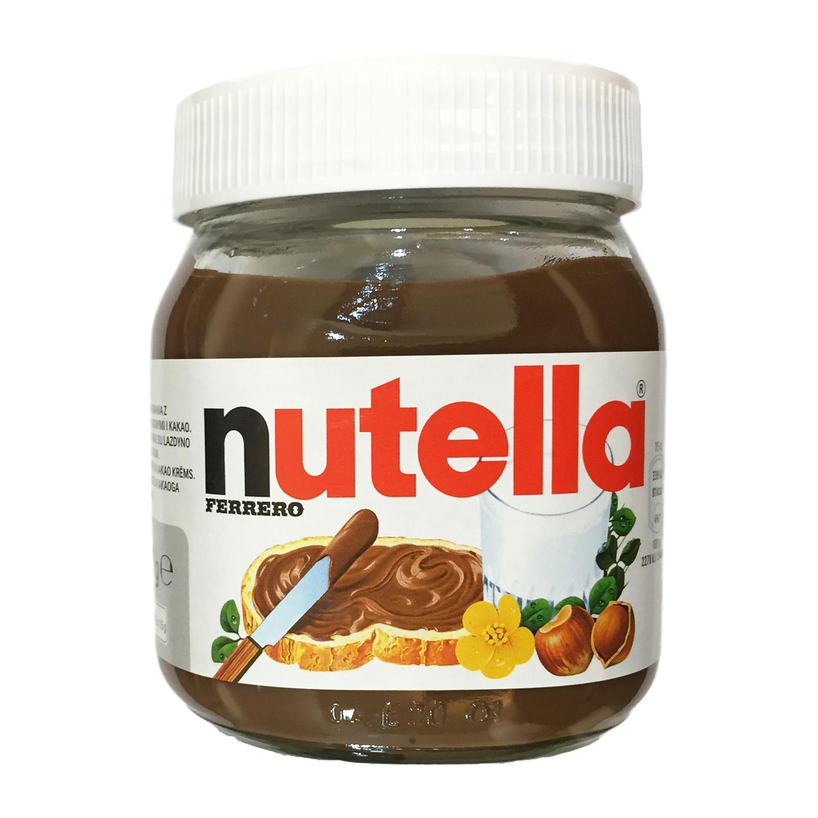 Nutella Hazelnut Spread 350g By Redmart.