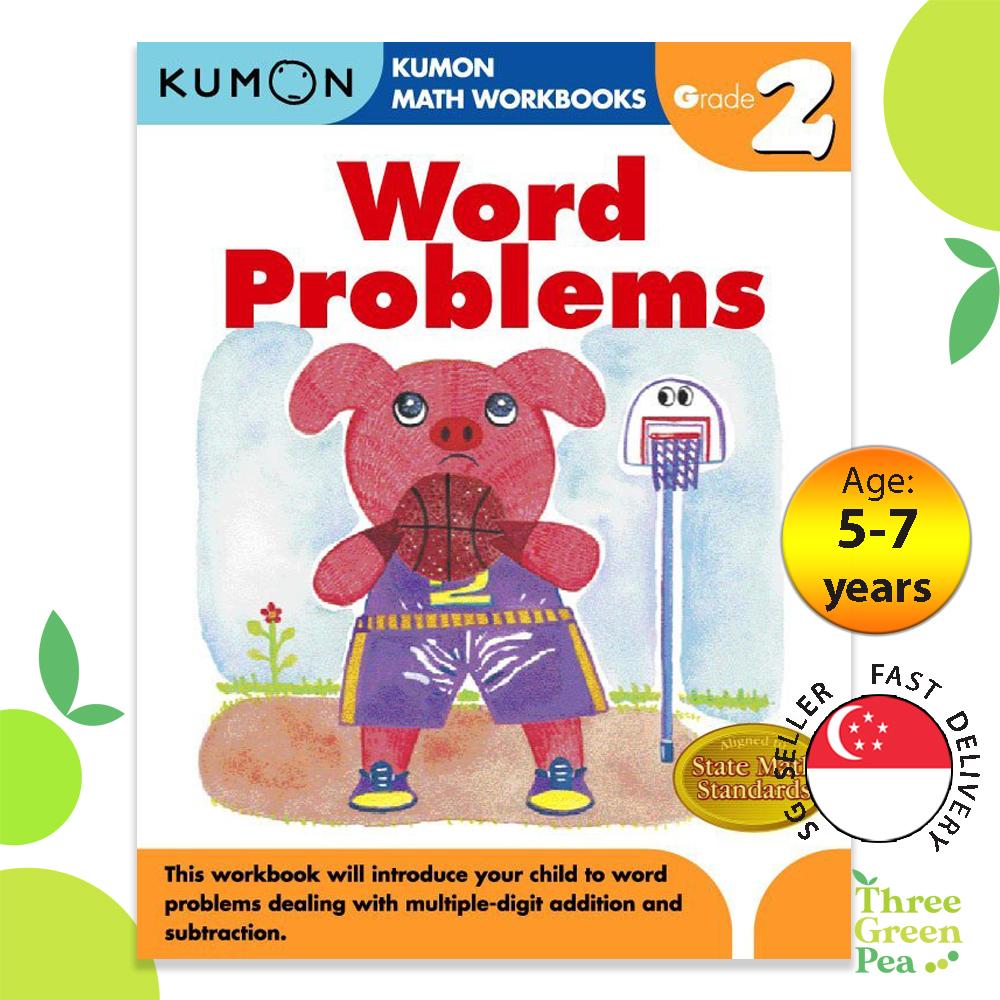 Kumon Math Workbooks Grade 2 WORD PROBLEMS