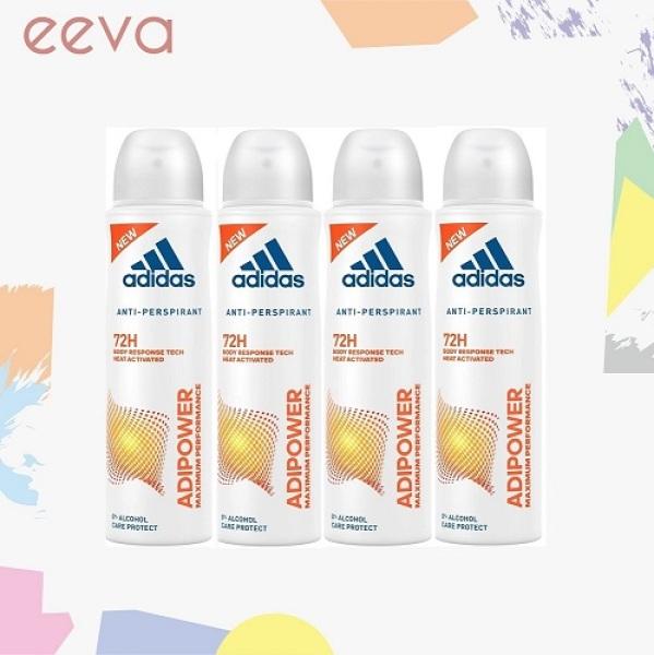 Buy Adidas Body Spray AdiPower for Women 4x150ml Singapore
