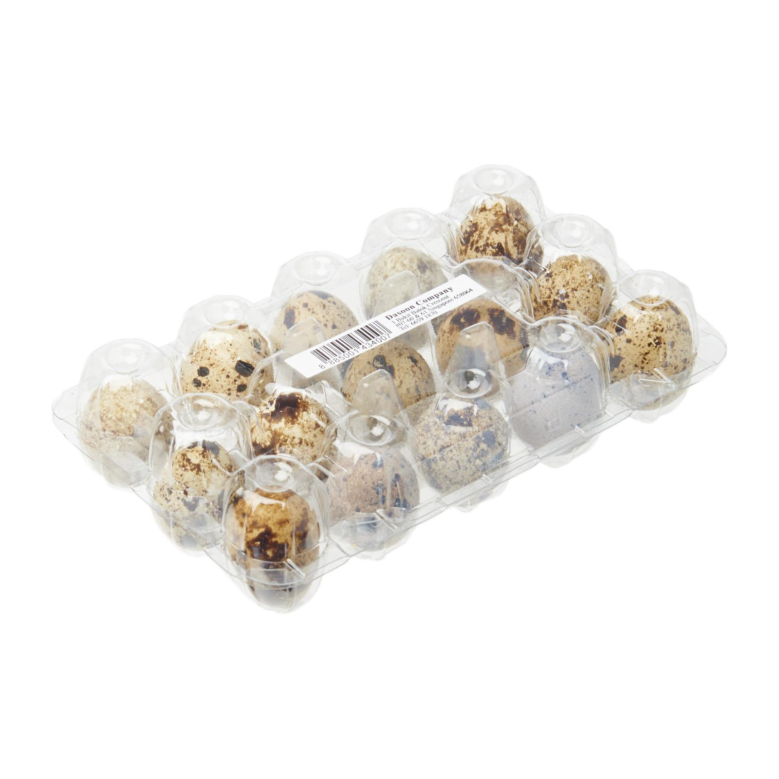 Dasoon Quail Eggs 15S (Keep Chilled)