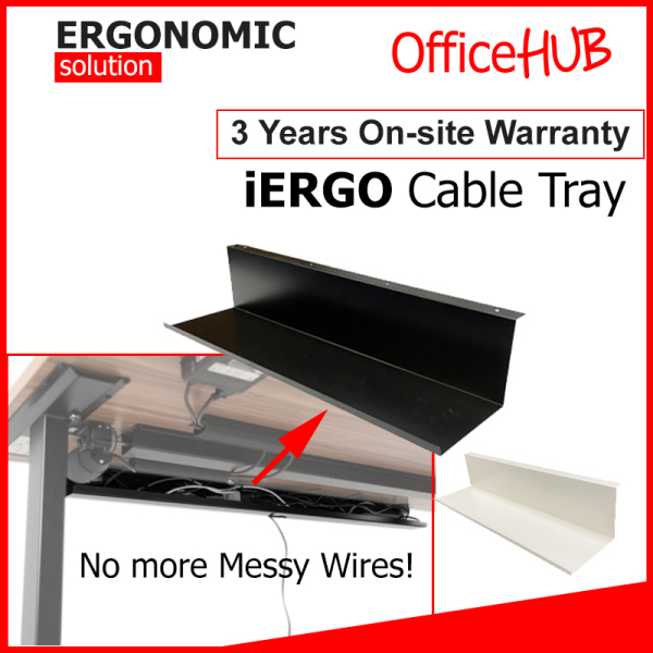 L-Shaped Cable tray Cable management Wire Organizer Wire Tray Under Desk Tray Cable Organizer Socket Tray Under Table Tray Wire Organiser