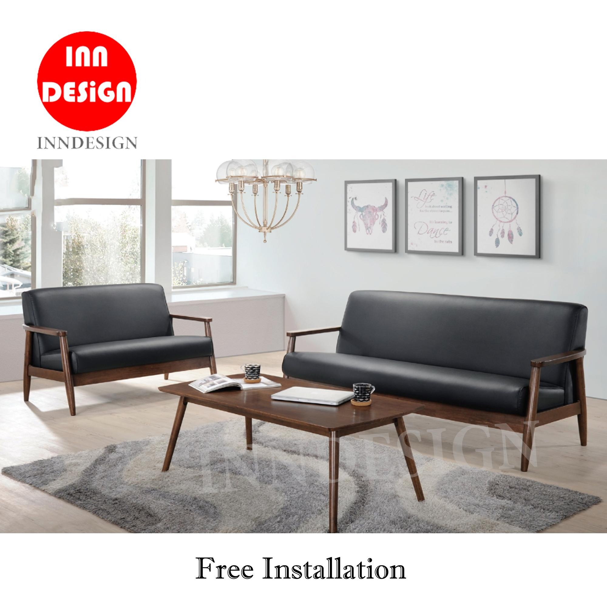 Reva Sofa Set (2/3 Seaters) (Free Delivery and Installation)