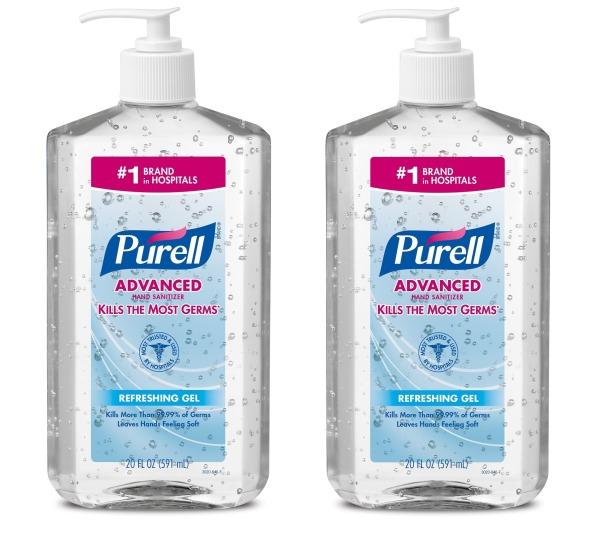 Buy PURELL® Advanced Hand Sanitizer Gel- 20 fl oz (591ml) (PACK OF 2) Singapore