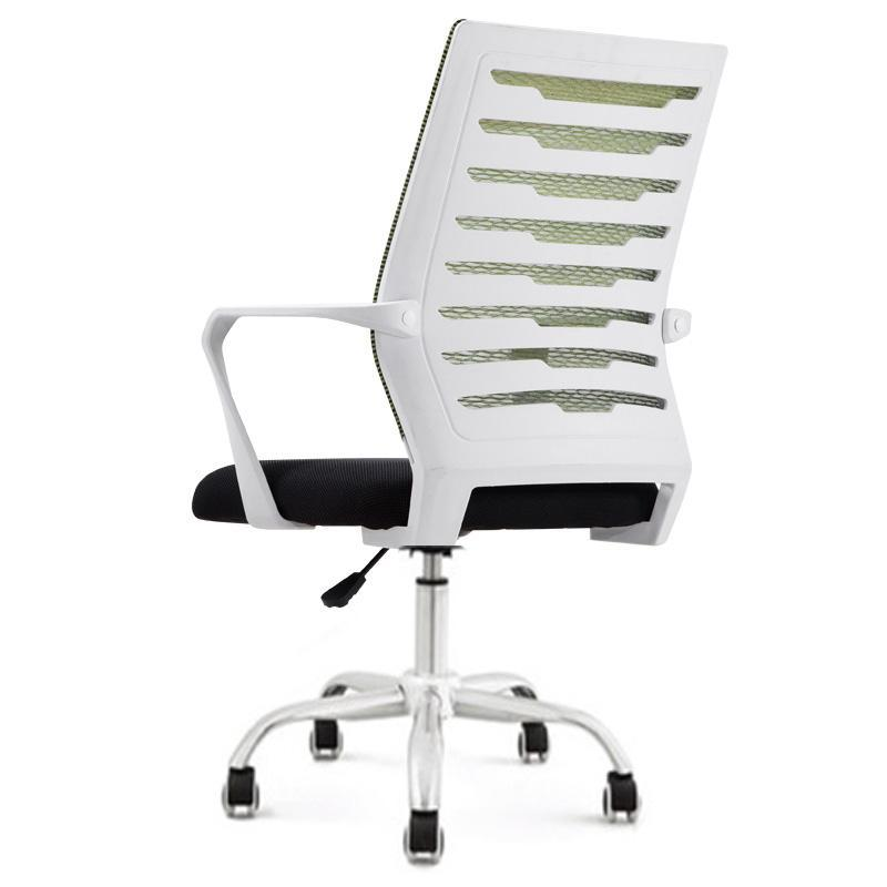 JIJI Typist Chair Ver 3 (White Frame) (Home Office Chair) Office chair/Study chair/Gaming chair/Ergonomic/ Free 6 Months Warranty (SG) Singapore