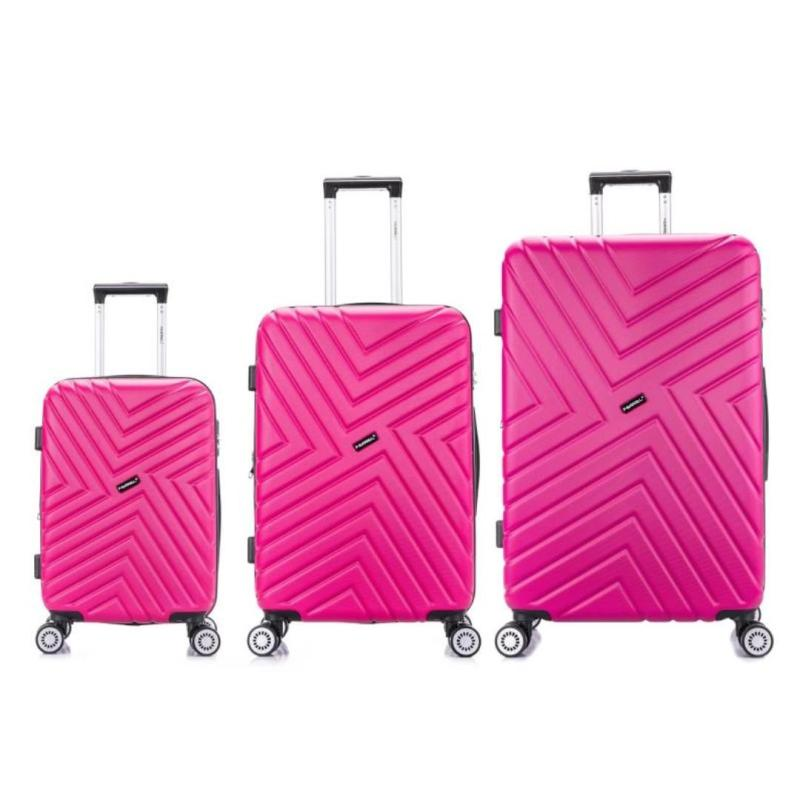 Wanderlust Luggage Geometric 28 Inch