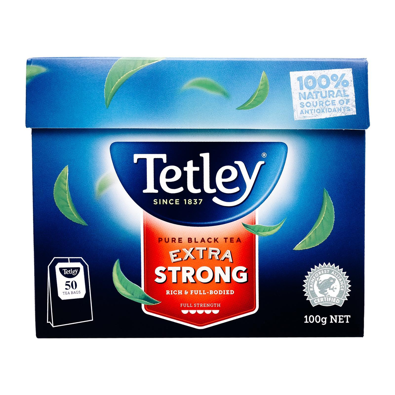 Tetley Australia Pure Black Tea Extra Strong - By Sonnamera