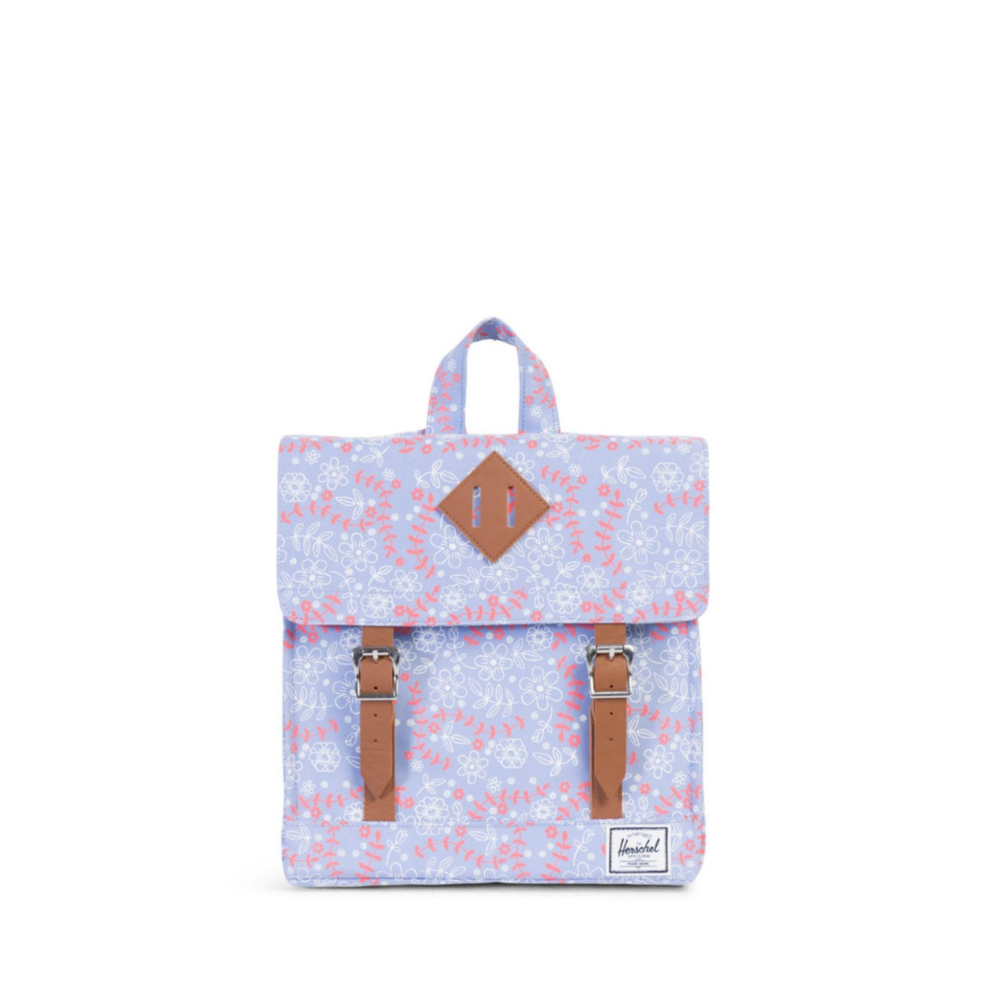 HERSCHEL SURVEY KID - Meadow/Tan Synthetic Leather