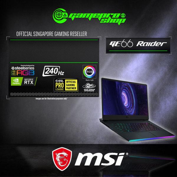 MSI GE66 Raider 10SF Gaming Laptop (I7-10750H/16GB DDR4/1TB SSD/8GB NVIDIA RTX 2070 GDDR6 /15.6FHD 240Hz /W10) - 10SF-200 (2Y)