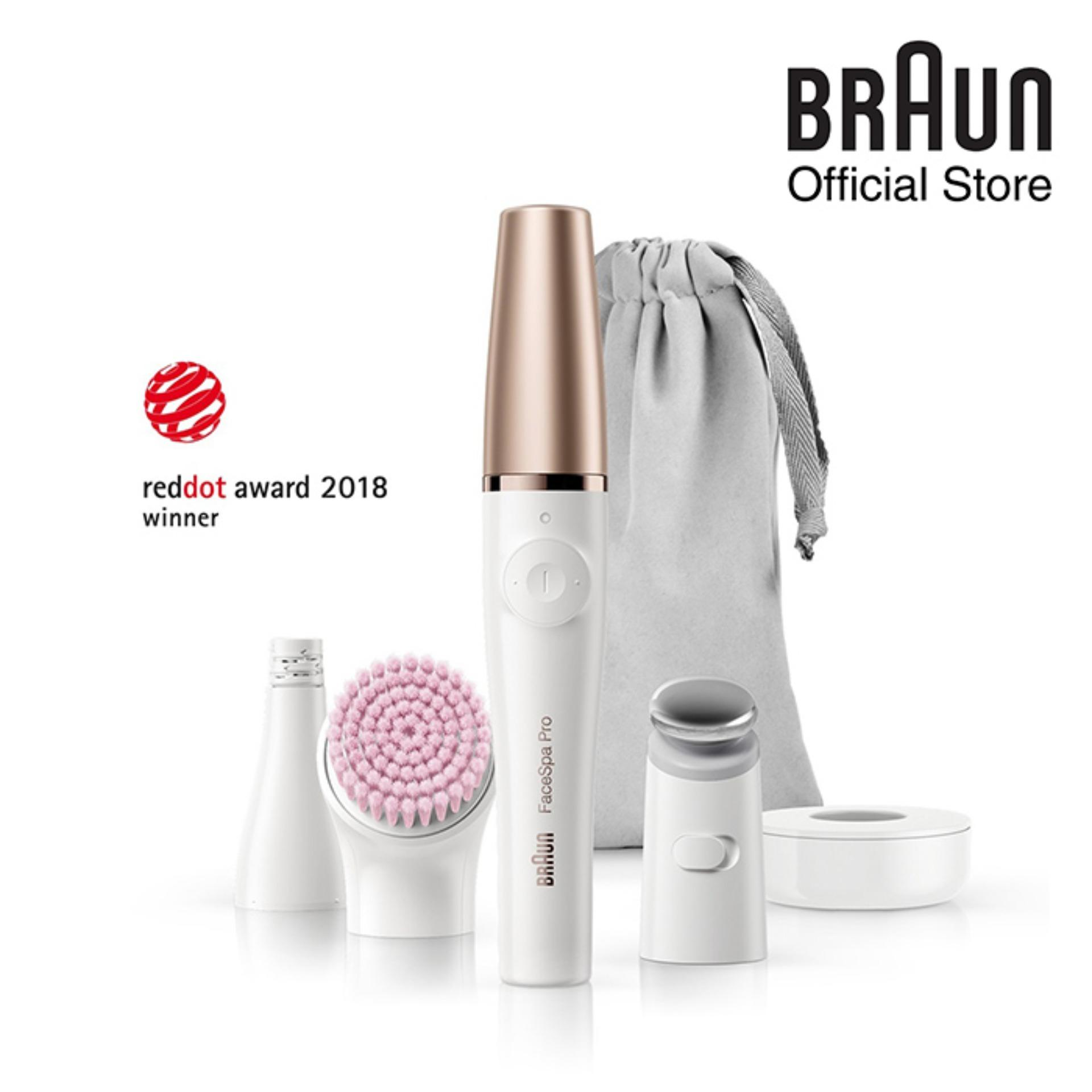 Braun Facespa Pro Se 912 Epilator – 3-In-1 Facial Epilator, Cleanser And Skin Toning System For Salon Beauty At Home By Braun Official Store.