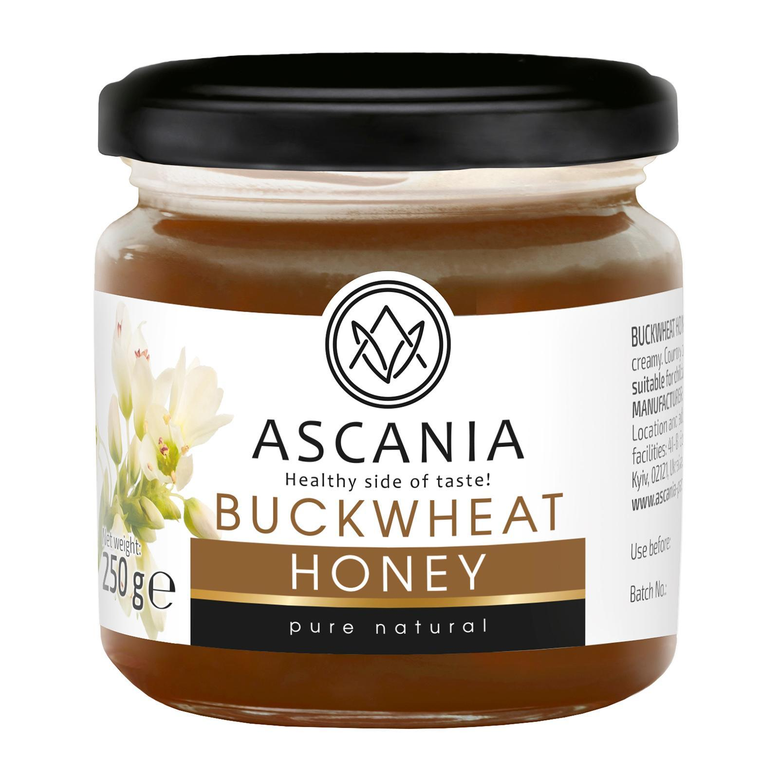Ascania Buckwheat Honey