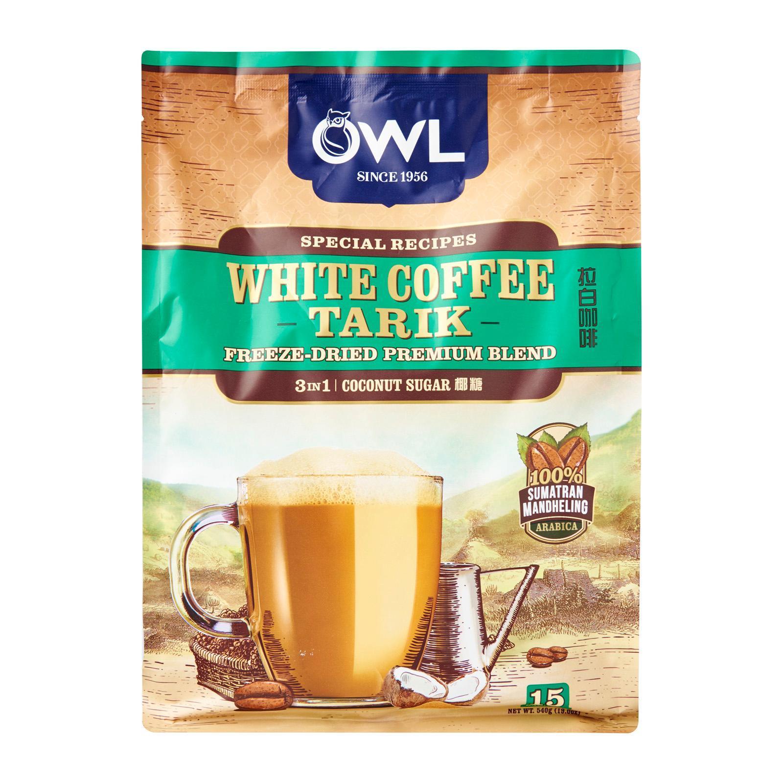 Owl White Coffee Tarik Coconut Sugar