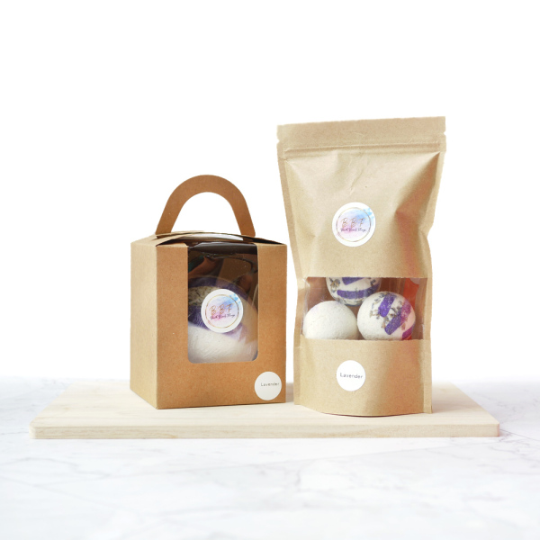 Buy Singapore Natural Handmade Bath Bombs | Lavender Bath Bomb (1 x 240g / 6 x 40g) Singapore