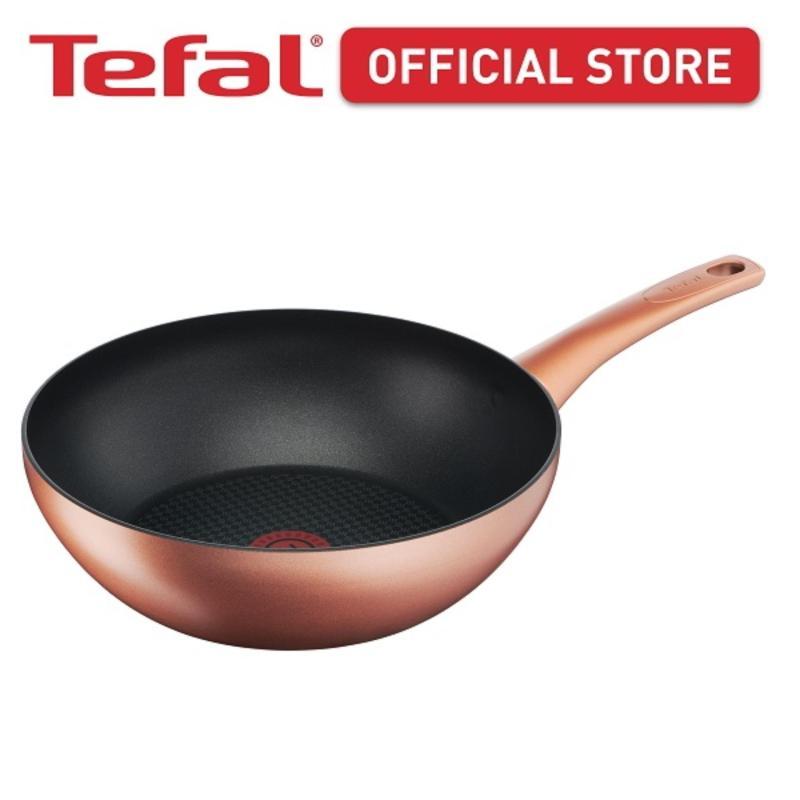 Tefal Chef's Delight Copper Wok Pan 28cm G11719 Singapore
